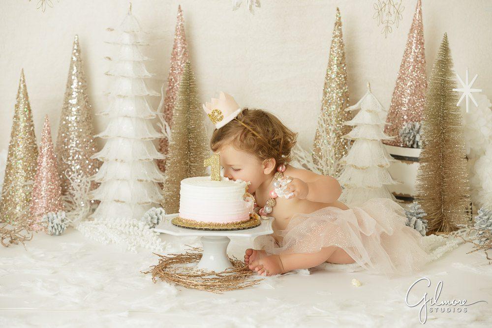 1st birthday Smash Cake Session, Orange County baby photographer